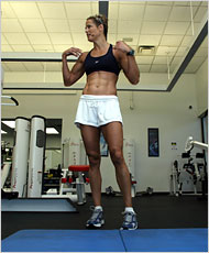 Dara Torres - looking lean and mean